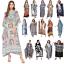 miniature 1 - Kaftan Dress Caftan Beach Cover Boho Gown Hippie Beach Women Plus Size Tunic Top