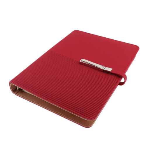 A5 Size Leather Notebook Portable Travel Notebook Business Journal