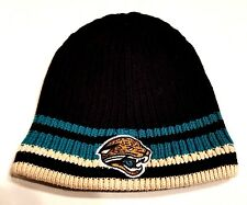 adab0063 NFL Football Jacksonville Jaguars Black Beanie Knit Hat Toque Fan ...