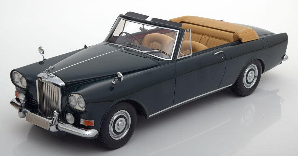 1963 Bentley S3 Park Ward DHC ConGrünible Dark Grün  BoS Models LE of 504 1 18