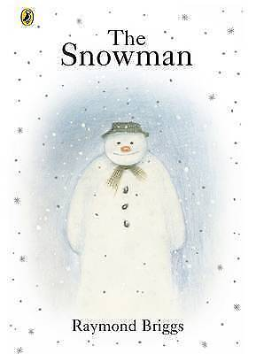 """""""AS NEW"""" Briggs, Raymond, The Snowman, Paperback Book"""