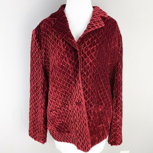 Vintage Great Cavalier by St. Paul Red Textured V… - image 1