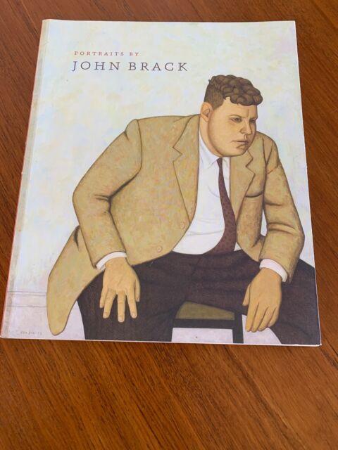 PORTRAITS BY JOHN BRACK National Portrait Gallery Paperback French Flaps