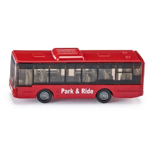 """° NUOVO Siku 1021 autolinea /""""Park /& Ride/"""" rosso modello veicolo BLISTER"""