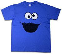 Cookie Monster T-shirt Bert Puppet Sesame Monster Place Ernie Tv Usa Street