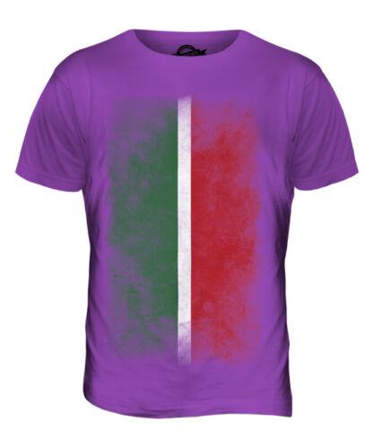 Hot TATARSTAN FADED FLAG MENS T-SHIRT TEE TOP FOOTBALL GIFT SHIRT CLOTHING JERSEY free shipping