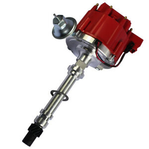Red-Cap-High-Performance-HEI-Distributor-for-Chevy-gm-Small-Block-Big-Block-65k