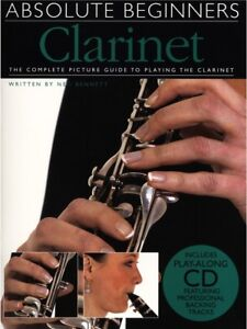 Learn-to-Play-Absolute-Beginners-Clarinet-Easy-Lesson-Teach-Yourself-MUSIC-BOOK