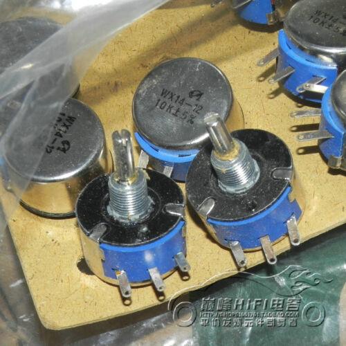 2PCS WX14-12 10K single turn around without locking potentiometer 3W #F1013 CY
