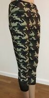 Vogo Athletica Women Capri Legging Camo M L Xl Yoga Running Workout $44