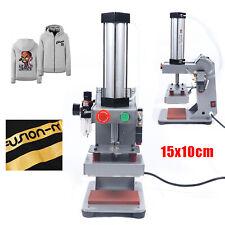 Automatic Hot Foil Stamping Machine Air Pneumatic Leather Pu Pvc Logo Press