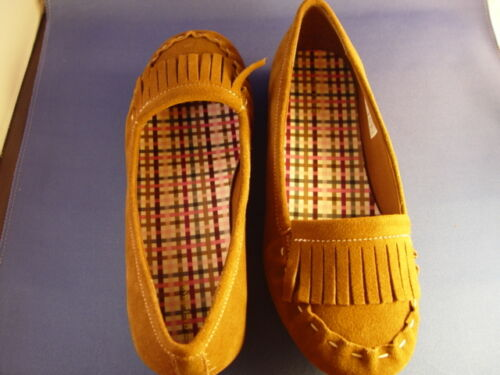 SHOES SZ 9 M NEW LANDS/' END casual moccasin SADDLE