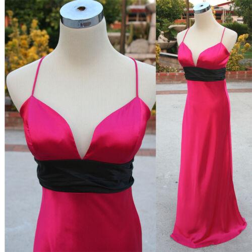 NWT JUMP $100 Fuchsia Black Juniors Formal Gown 5