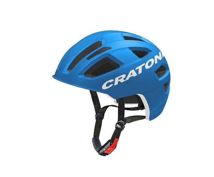 Cratoni-C-pure-colore  blu Matt-Taglia  S-M (54 - 58)