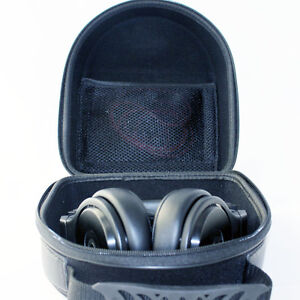 Large Headphone Case w// Cushion for Sennheiser HD600 AKG K514 K545 Mixr Gold