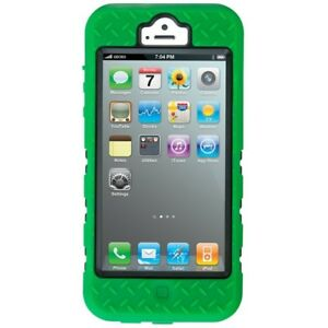 brand new 53e24 2e0b3 Details about Gecko Tradie Ultra Tough Case Apple iPhone 5 Green 5S SE  Cover Splash Dust Proof