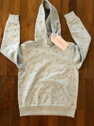 Giambattista Valli x h&m HM Hoodie con pedrería talla M, Sweater Grey rhinstones