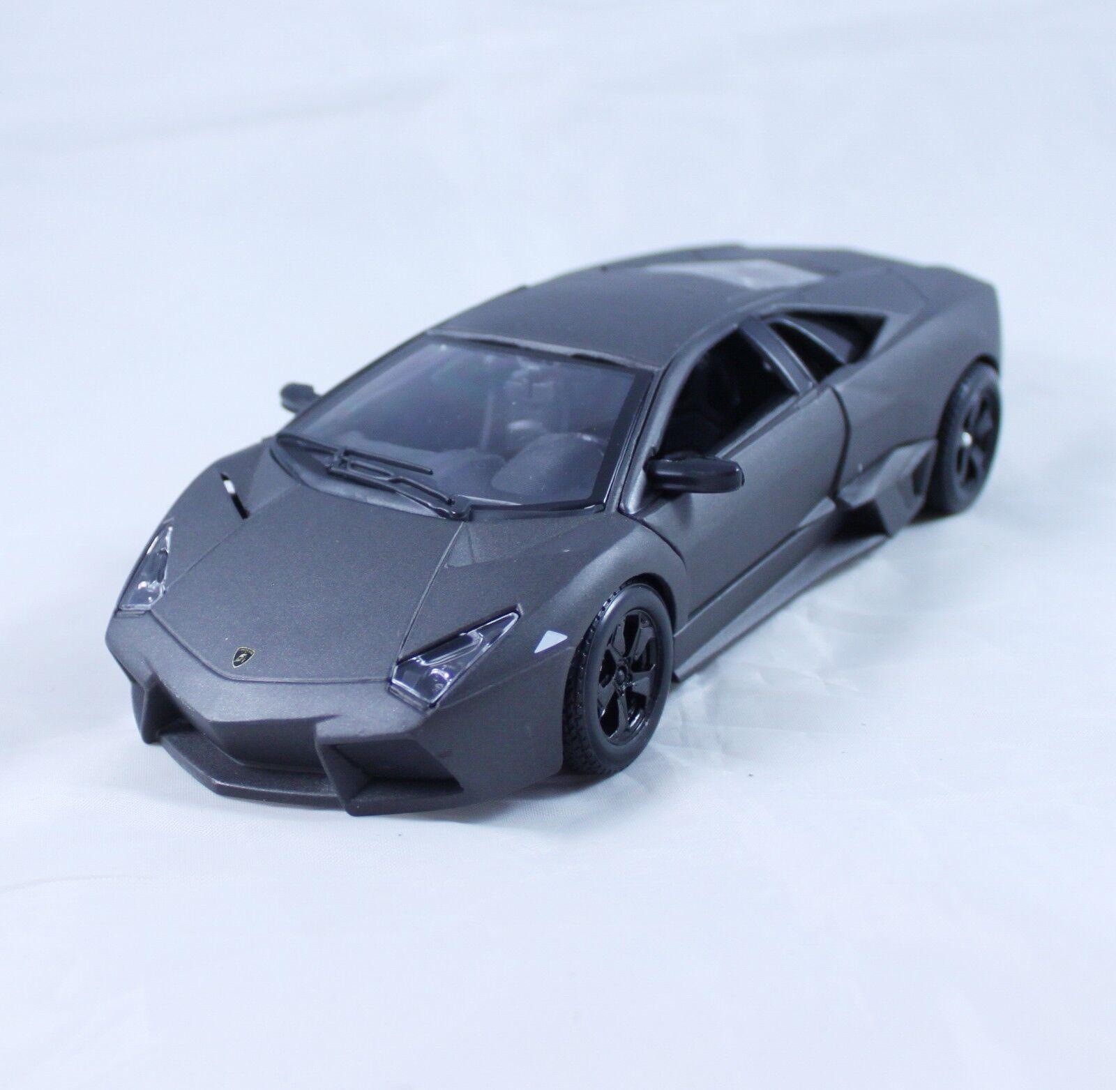 Bburago 1 24 Lamborghini Reventon Diecast Car Model Matte Black For