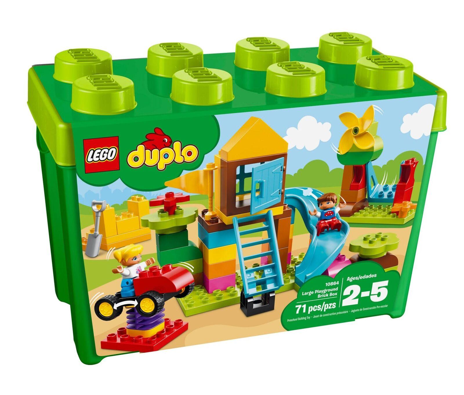 LEGO® 10864 DUPLO® Steinebox mit großem Spielplatz
