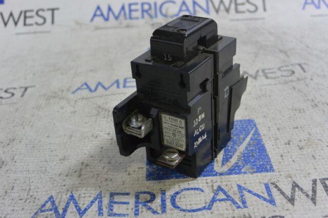 ITE P250 WARRANTY 50 AMP 2 POLE 240 VOLT Pushmatic Circuit Breaker