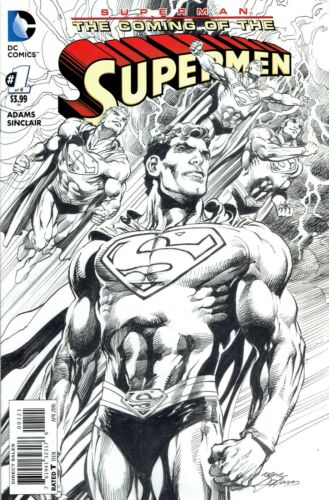 SUPERMAN THE COMING OF THE SUPERMEN #1 1:25 INCENTIVE VARIANT COVER
