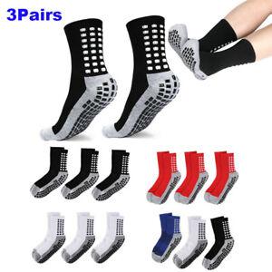 Anti Slip Non Skid Slipper Hospital Sports Yoga Athletic Grip Socks for Adults