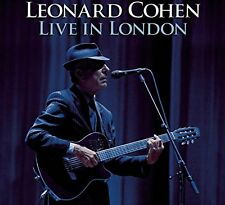 LEONARD COHEN - LIVE IN LONDON - 2CD NEW SEALED 2010