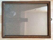 ancien cadre avec vitre pour photo gravure dessin vue 34x25,3 cm  n°239