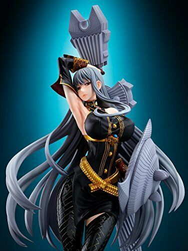 Anime Valkyria Chronicles Selvaria Bles Battle Mode Vertex 1//7 PVC Figure No Box