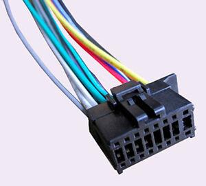 wiring harness fits pioneer mvh 290bt mvh291bt mvh390bt whp16c image is loading wiring harness fits pioneer mvh 290bt mvh291bt mvh390bt