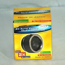 DC 2XAF/NIK 2X AF Teleconverter for Nikon Digital SLR Cameras Free World Sh