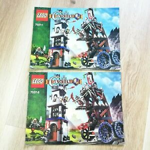 LEGO-INSTRUCTIONS-BOOKLET-ONLY-Castle-Tower-Raid-7037