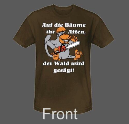 """gratis Los Shirt """"L"""" Motorsäge Kettensäge Stihl Solo Dolmar Husqvarna"""