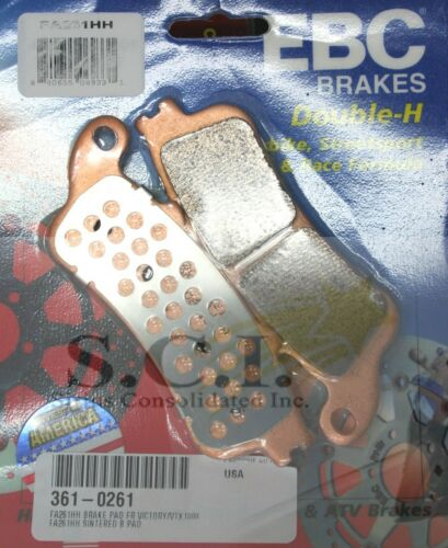 HONDA ST1100 CBR1100 ST1300 VTX1800 EBC FA261HH FRONT OR REAR BRAKE PADS