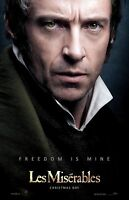 Les Miserables Movie Poster Print : Hugh Jackman Poster : 11 X 17 Inches