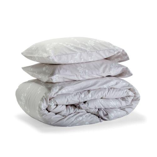 100/% coton Savastextile liseron Housse de couette avec taies d/'oreiller