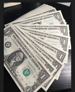 1-STAR-REPLACEMENT-NOTE-1-Circulated-Uncirculated-Dollar-Bill-Not-Consecutive