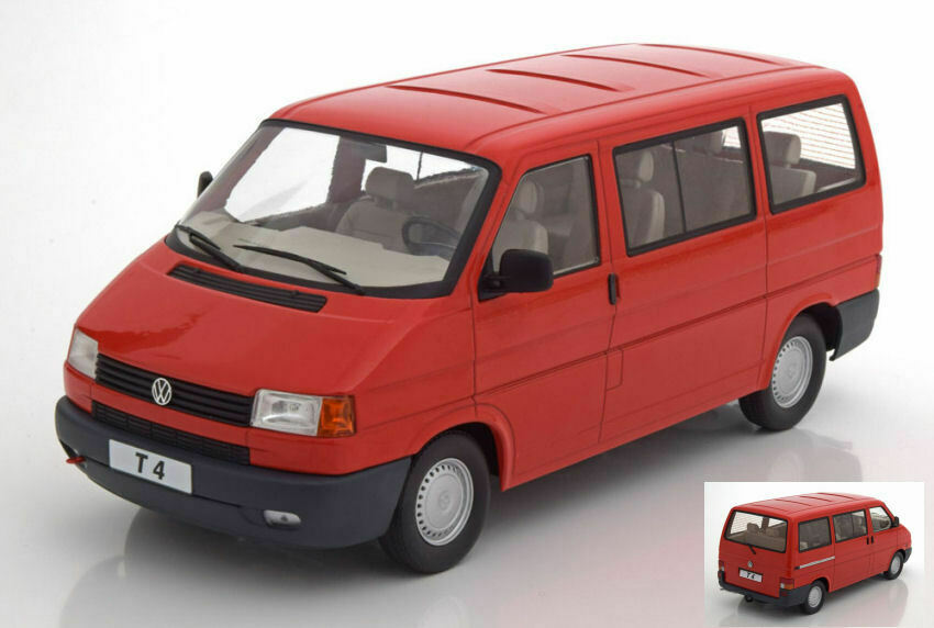 Volkswagen vw t4 autoavelle rosso 1 18 modellolole kk