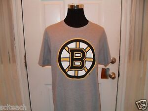 3eeb7306c New w Tag Boston Bruins B HUB SPOKE Logo Gray Hockey T-Shirt All ...