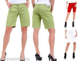 Pantaloni-Corti-Donna-Shorts-MISS-MISS-A447-Tg-42-44