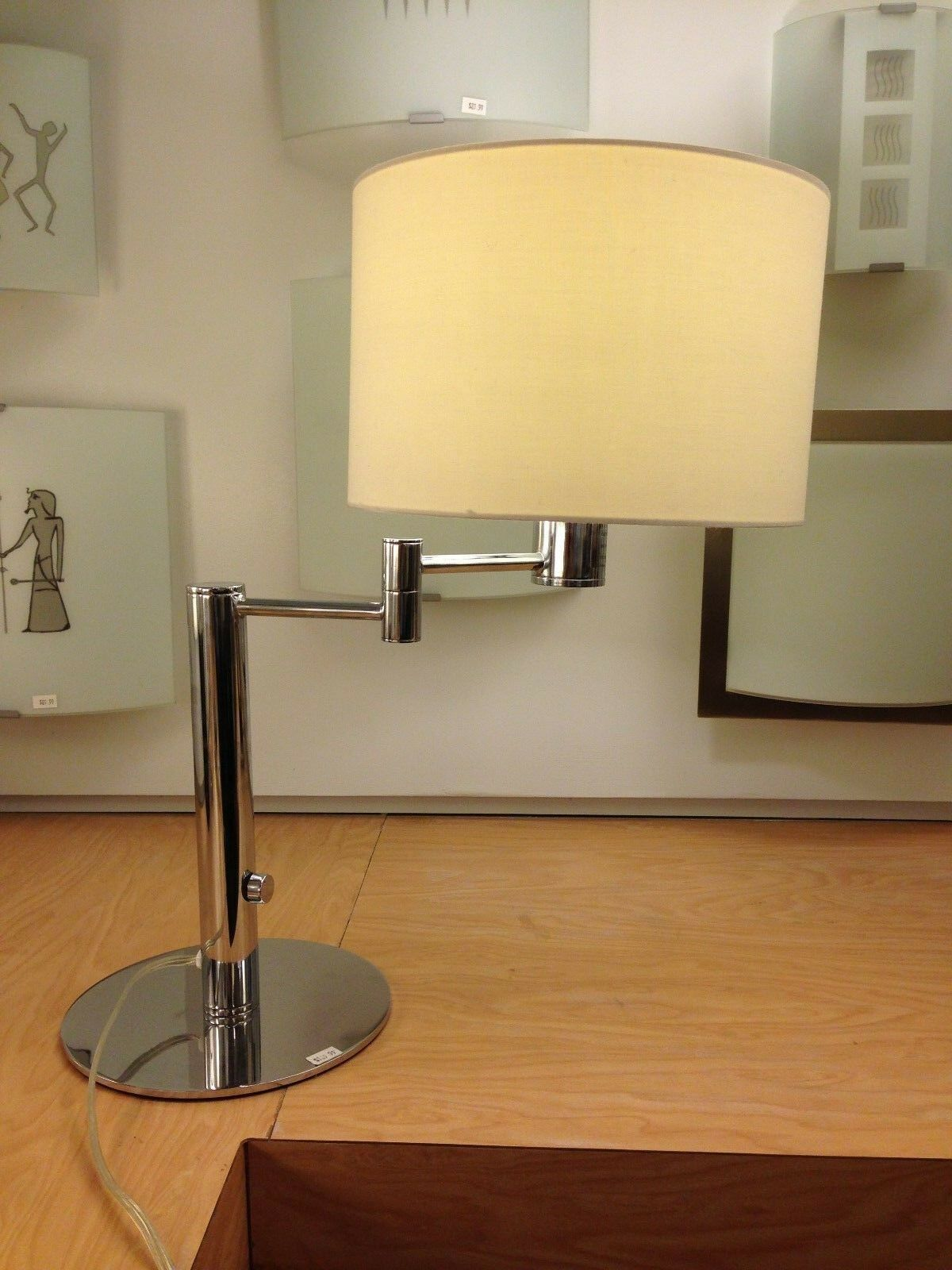 Bedroom Table Lamps Chrome Weiß