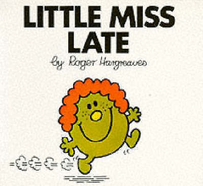"""""""AS NEW"""" Little Miss Late (Little Miss library), Hargreaves, Roger, Book"""