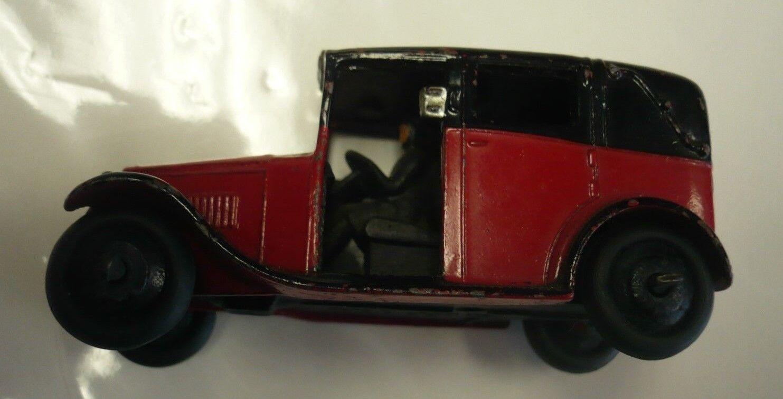 edición limitada en caliente Dinky Juguetes Nº 36g taxi con controlador controlador controlador en rojo y negro 1947-50. Excelente  a precios asequibles