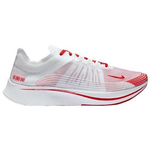 Nike Zoom Fly SP White University Red Summit  AJ9282 100 Size 8-13