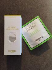 Hermes Le Jardin De Monsieur Li Eau de Toilette Collectible Mini .25 oz 7.5 ml