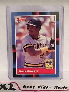 Details About 1988 Donruss Barry Bonds Baseball Card Pittsburgh Pirates Mlb 326 Giants Hr