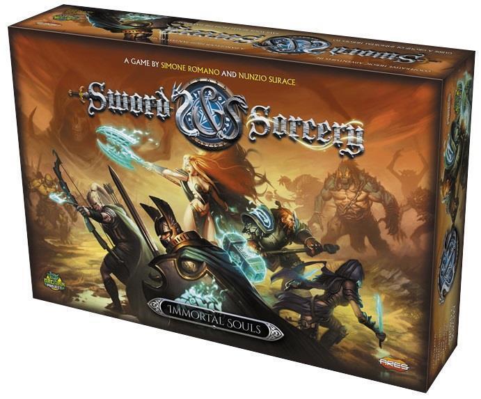 Ares Games  Sword & Sorcery  inmortal almas AGS GRPR 101