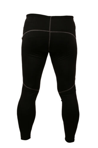 New Mens Cycling Underwear Thermal Warm Full length leggings pants UK S-XXL