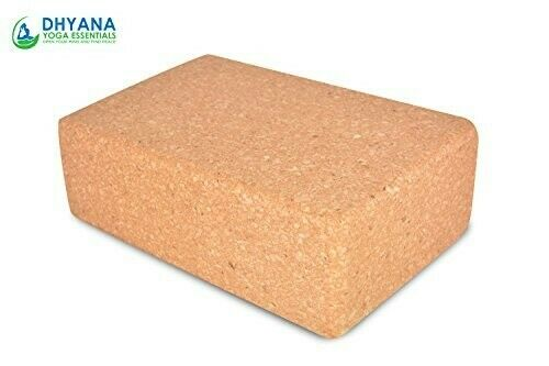 Original Cork Yoga Block Yoga Brick, Natural Eco friendly – Set of 2
