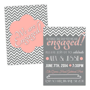 Personalised-engagement-party-invitations-SHE-SAID-YES-PINK-FREE-ENVELOPES-amp-DRA